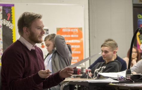 Student teacher returns to Bellevue West