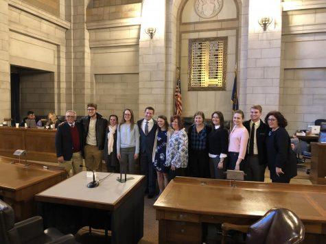 Senator Morfeld brings Student Press Freedom LB206 before Nebraska's Judiciary Committee