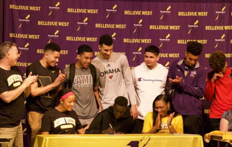 Athletes sign letters of intent for collegiate sports