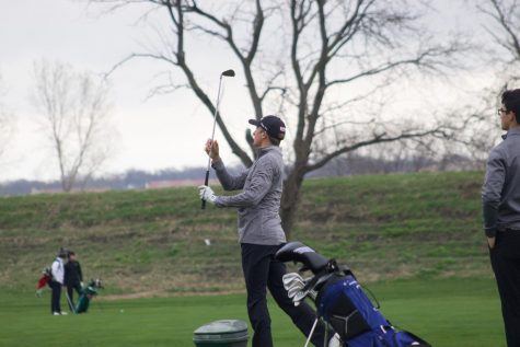 Photo Essay: Bellevue West Boys Golf Tournament Thursday 4/11/19