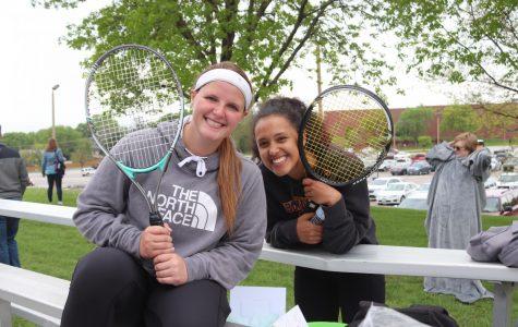 Girls tennis vs. Millard South 5/7/19