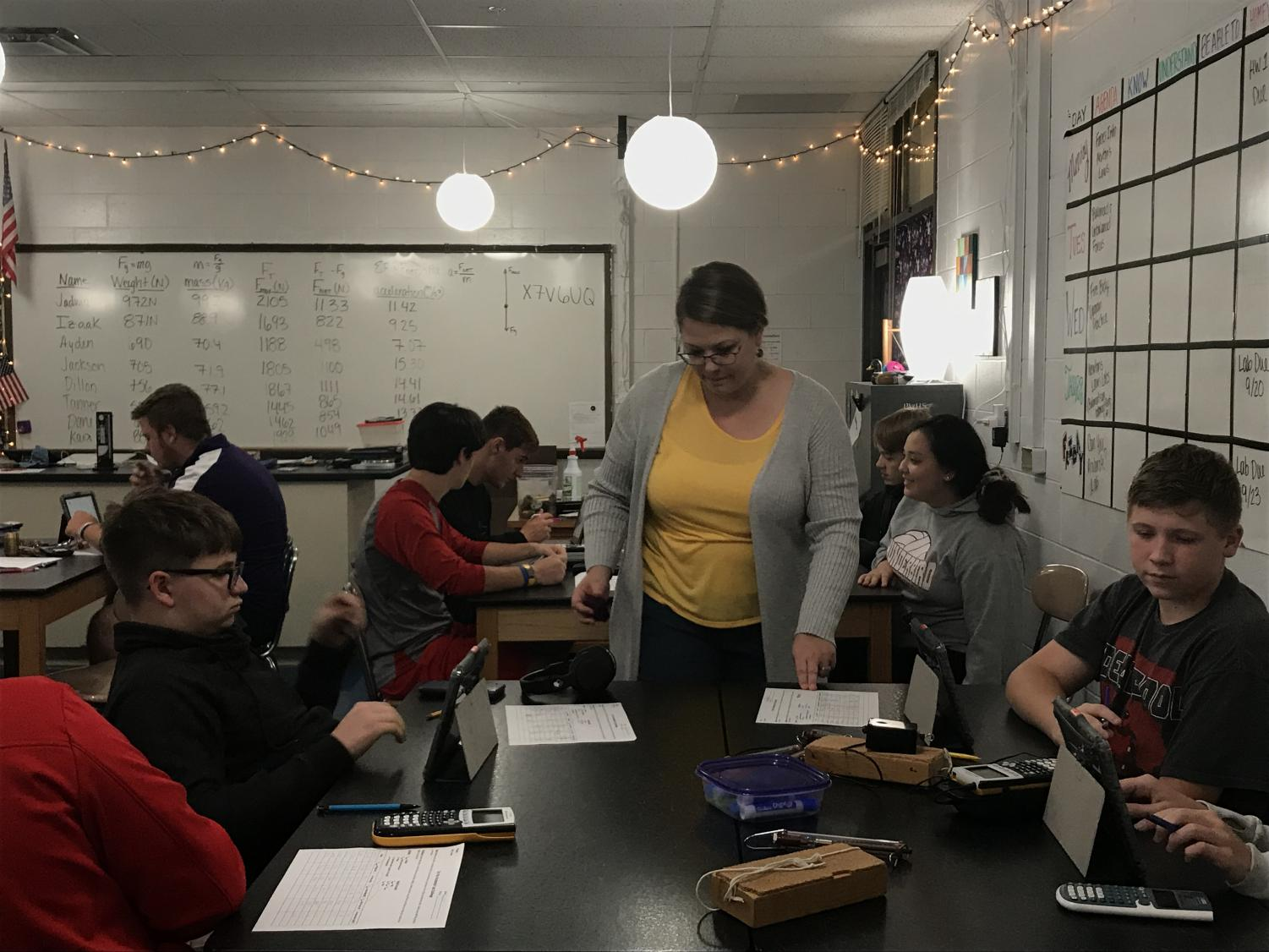 Physics teacher Ashley Jadwin discusses her path to Bellevue West