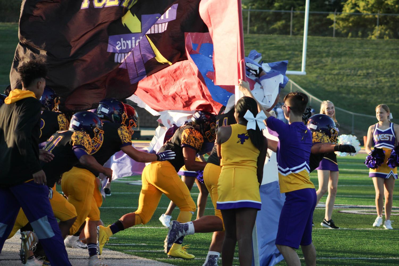 Photo Essay: Football vs. Papio South Friday 9/13