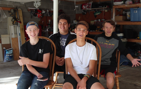 Garage Boiz: Four sophomores take their love of music from the classroom to the garage