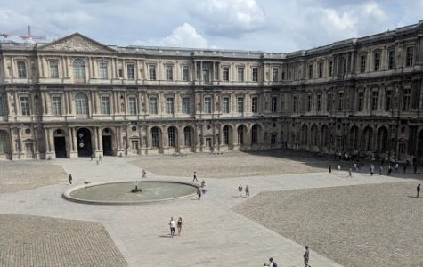 Part of the EF Tour to France was the Cour Carrée in the Louvre Museum in Paris, France.