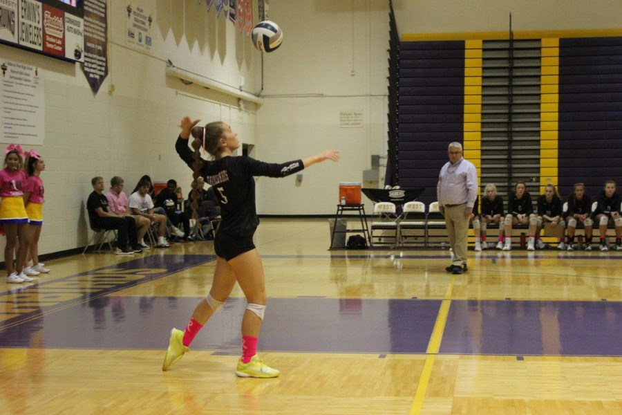 Photo Essay: Volleyball vs. Papio South Thursday 10/3