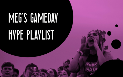 Meg's gameday hype playlist