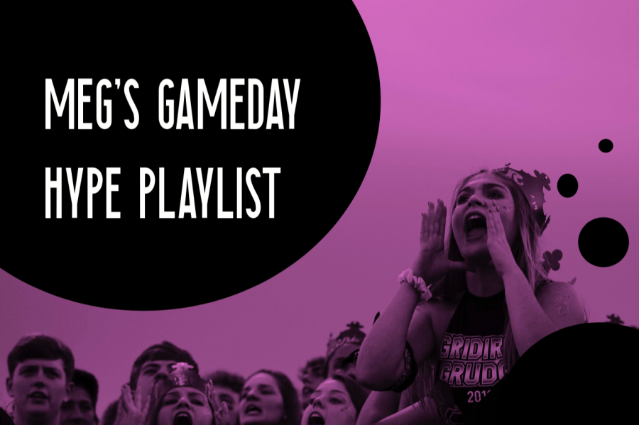 Meg's gameday hype playlist