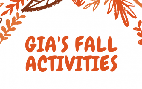 Gia's fall activities