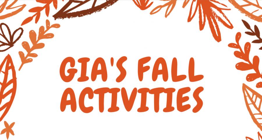 Gia's fall activities
