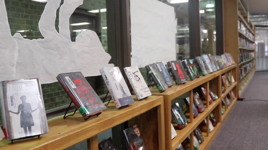 Karissa Schroder explains the library