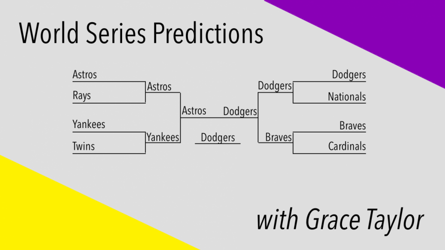 Grace's baseball post-season predictions