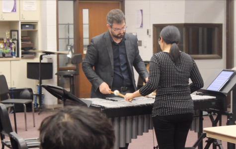 Arx Duo teaches Percussion Master Class
