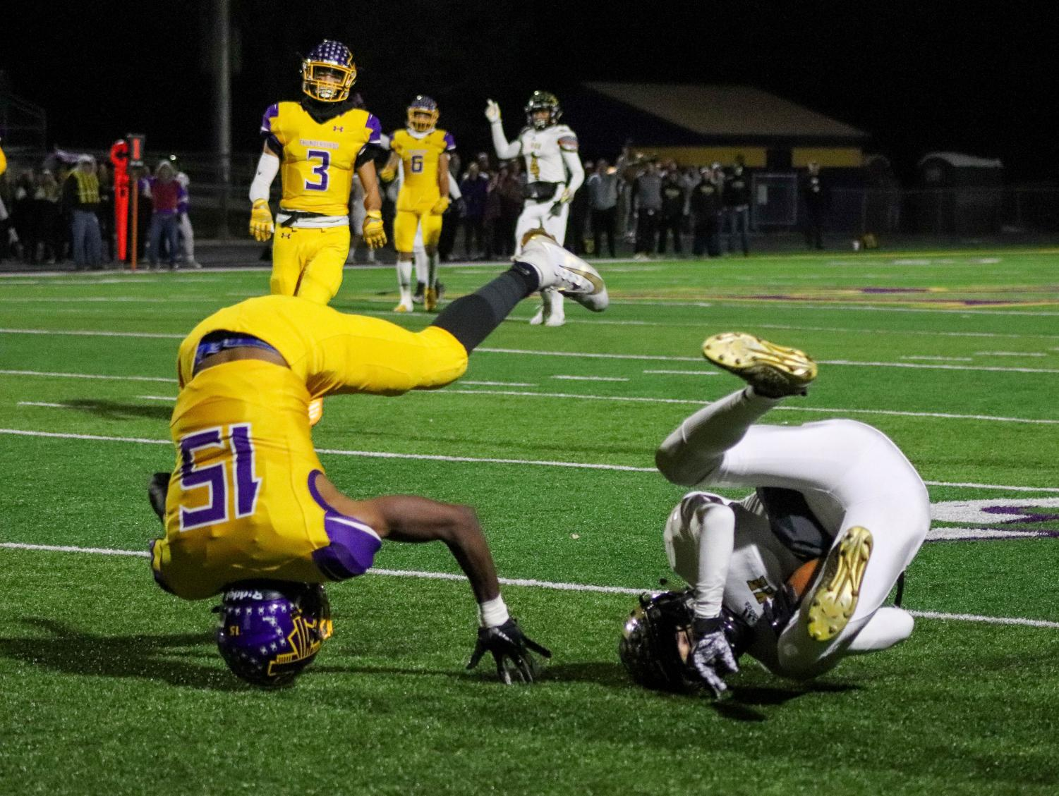 Photo Essay: Football vs. Omaha Burke 11/8
