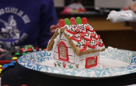 Science National Honor Society hosts annual gingerbread house construction competition