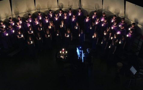 Junior Olivia Carlson shares, member of two choirs, shares her thoughts on the Candlelight Concert