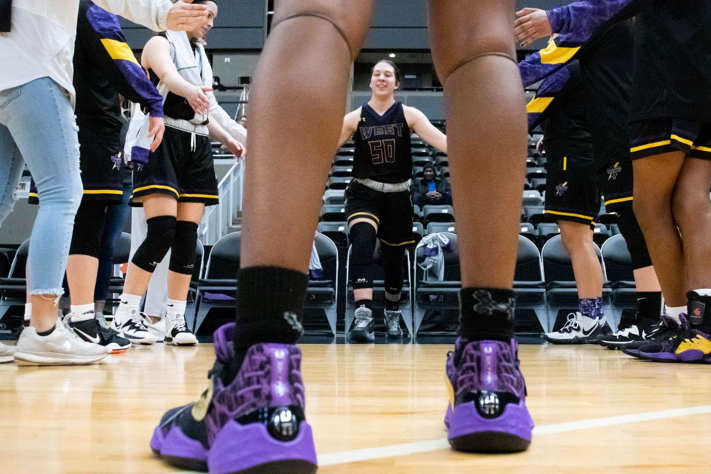 Photo Essay: Girls basketball vs. Omaha Marian 12/30