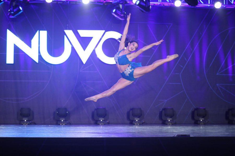 Freshman Tianna Harton-Kovy describes her life as a competitive dancer
