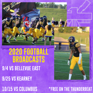 The Thunderbeat announces changes to fall broadcasting