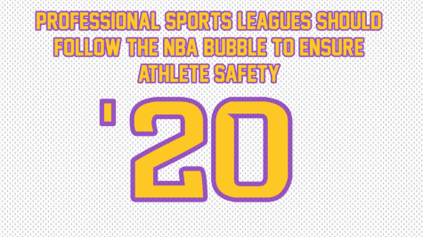 Professional sports leagues should follow the NBA bubble to ensure athlete safety