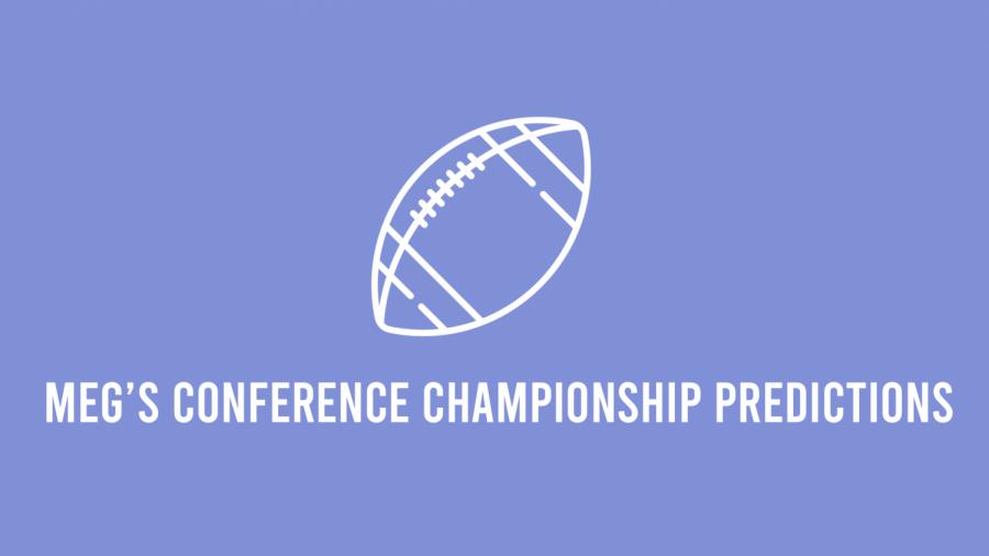 Meg's conference championship predictions