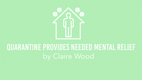 Quarantine provides needed mental relief