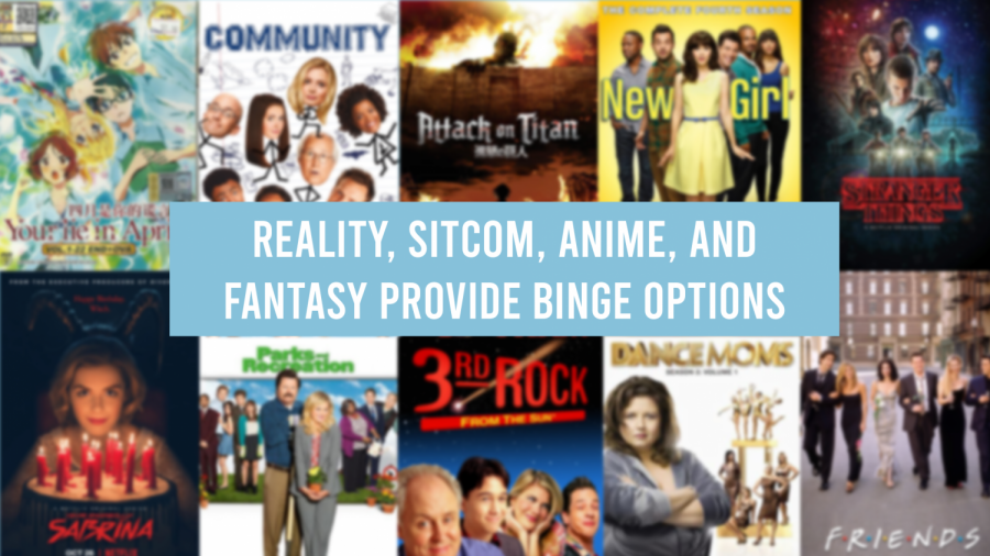 Reality, Sitcom, Anime, and Fantasy provide binge options: The Thunderbeat staff's top picks