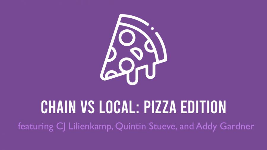 Chain vs local: Pizza edition