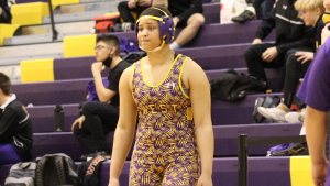 Coach Curtis Gocke and wrestler Gia Blanks look back on her season