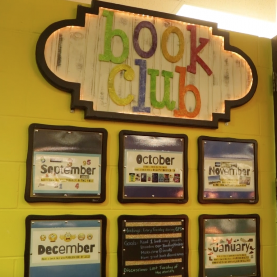 Librarian Kari Schroder shares information about Book Club