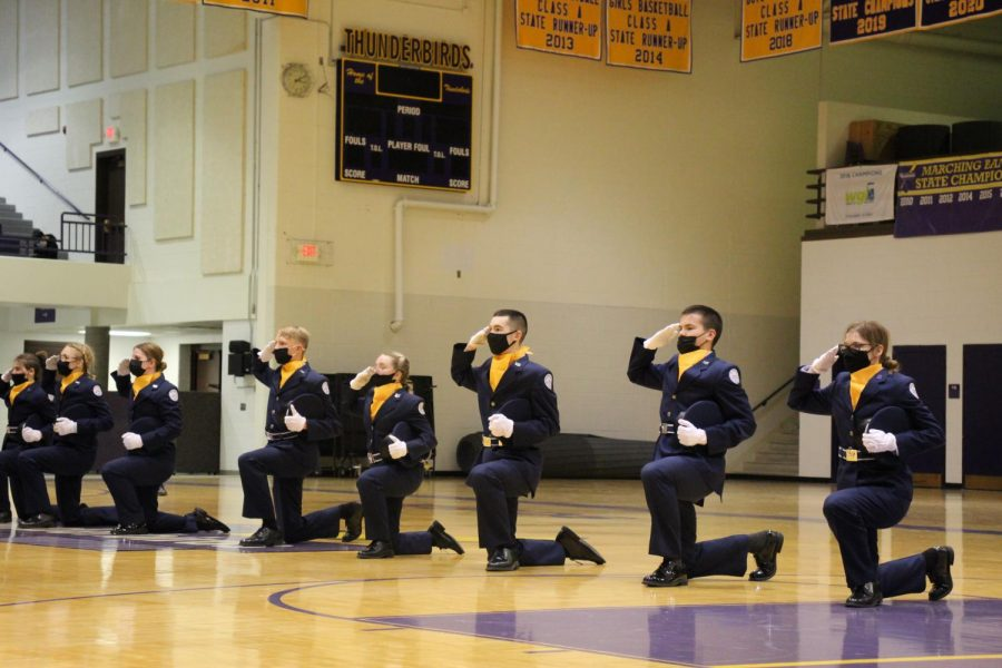 Photo Essay: ROTC Unarmed Exhibition Routine 4/1